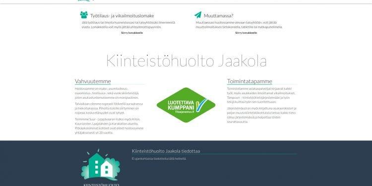 Kiinteistöhuolto Jaakola Oy