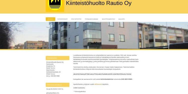 Kiinteistöhuolto Rautio Oy